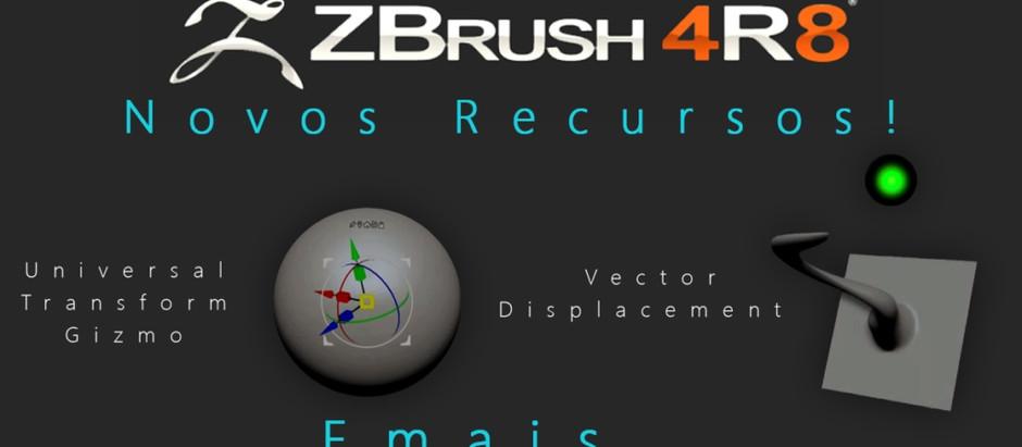ZBrush 4R8 Novidades