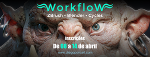 curso workflow zbrush blender cycles