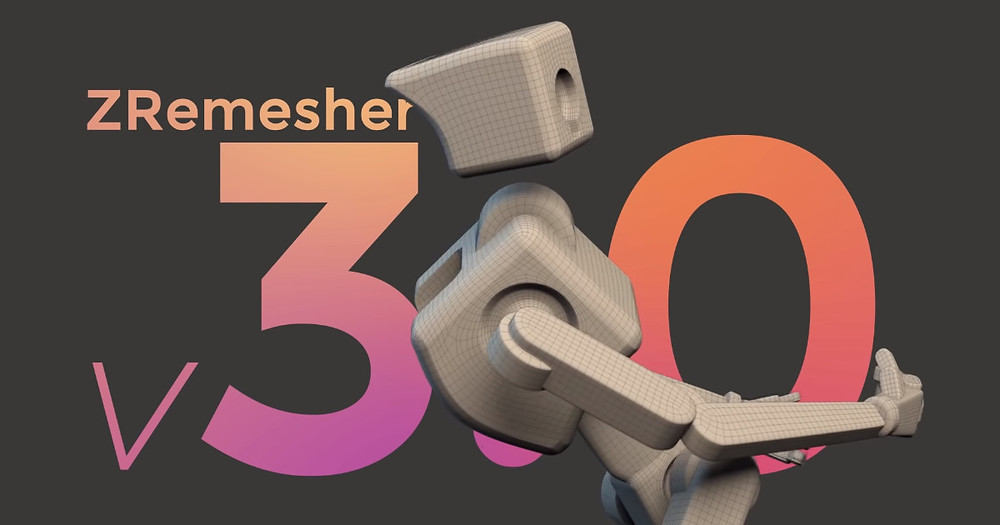 zbrush 2019 zremesher 3.0