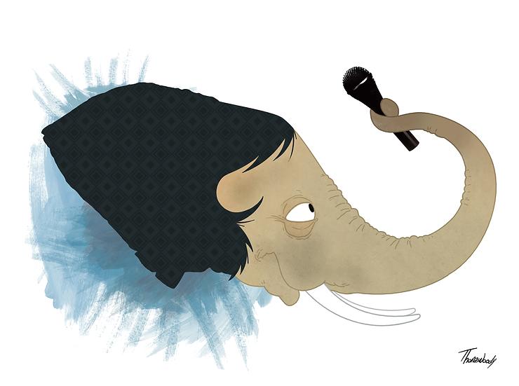 Mick elefant