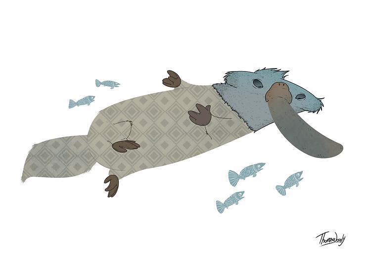 Platypus and Fish.