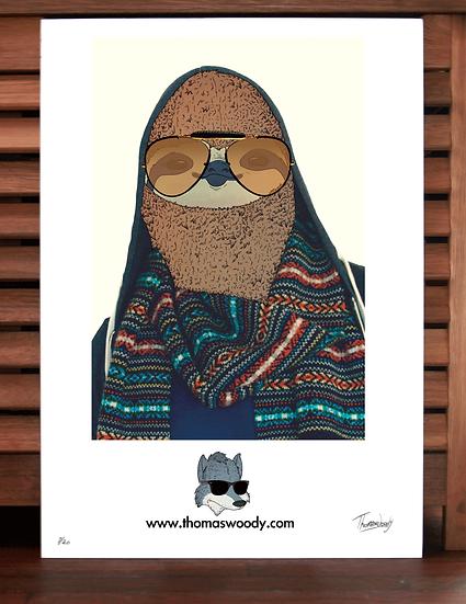Douglas the Sloth.