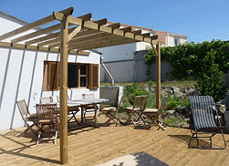 Pergolas Bois Saumur