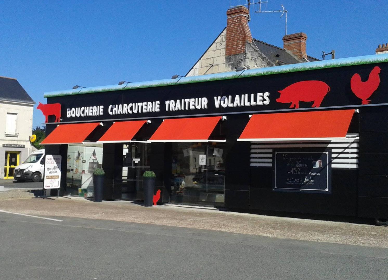 Agencement de la Boucherie de VIVY