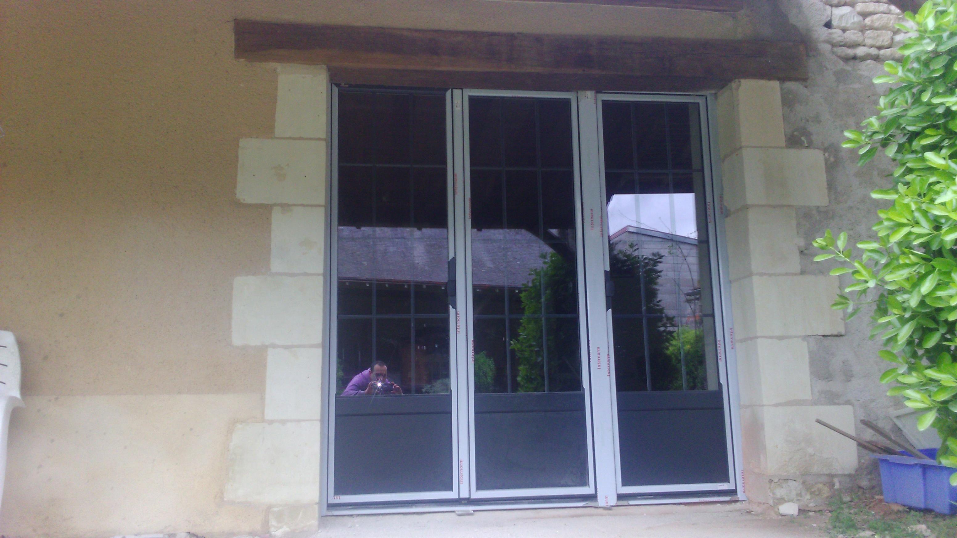 Porte fenêtre 3 Vantaux INTERNORM Ra