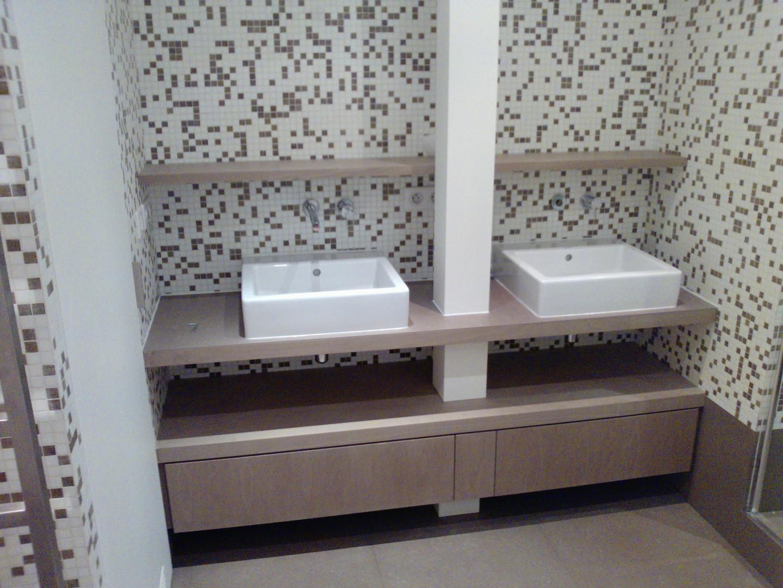 Meuble double vasque personnalisé