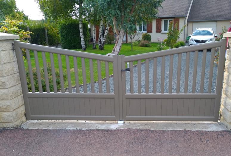 Installation d'un portail à Saumur