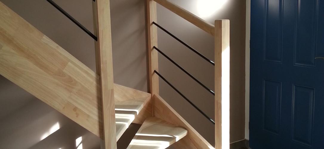 Escalier bois / métal
