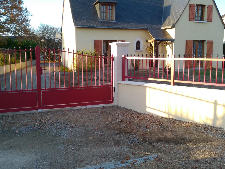 Portail et clôture aluminium Traditionnelle
