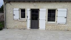 Porte d'entrée PVC/ Alu
