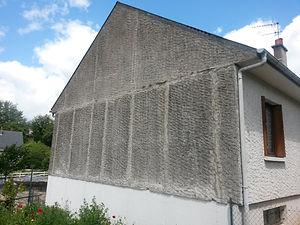Isolation Extérieur avant travaux Saumur