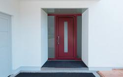 Porte d'entrée Aluminium Modèle : AT