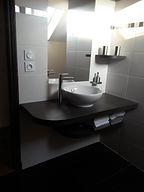 Salle de bain à Saumur
