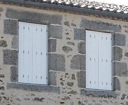 Persiennes repliantes Saumur