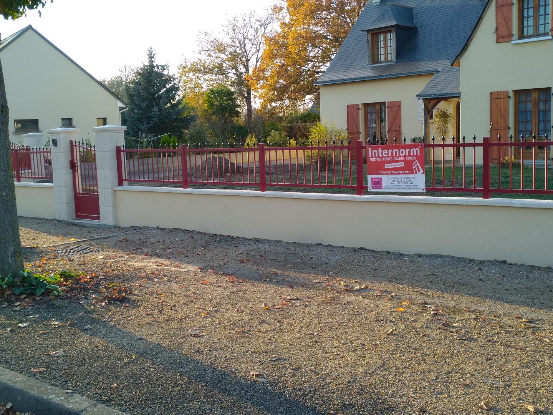 Portail et clôture en aluminium