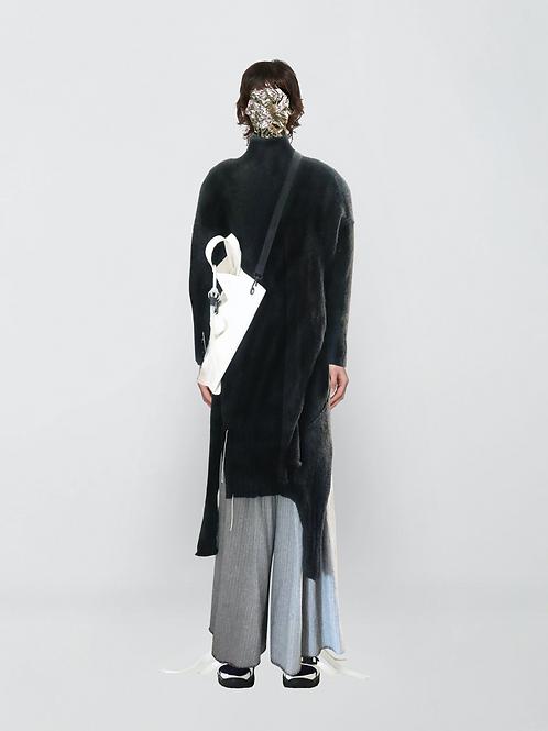 handknitted dress
