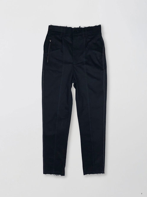 regular fit denim trousers