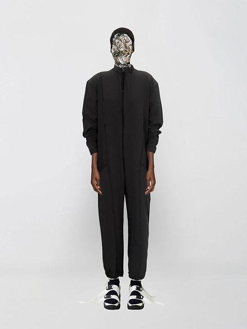 oversized microfibre jumpsuit