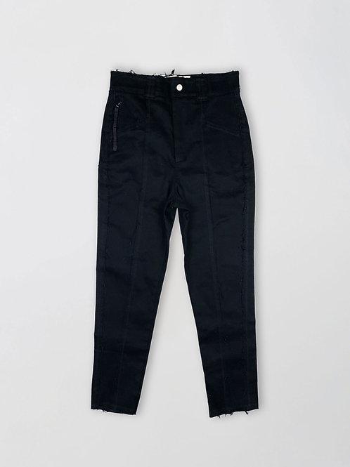 regular fit heavy denim trousers