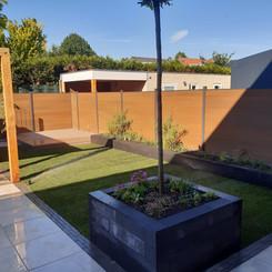 - moderne tuin -