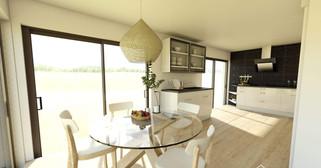 aménagement et décoration cuisine version table