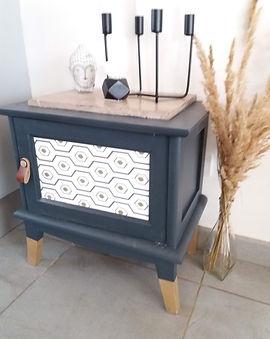 relooking meuble Jeanne Décoratrice ambiance art déco