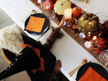 Décoration de la table d Halloween 👻🎃