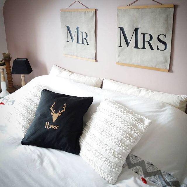 Tête de lit chambre parentale