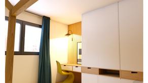 Conception 3D d'une chambre de garçon