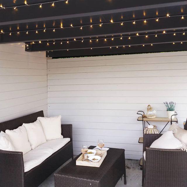 Aménagement Terrasse avec ciel lumineux