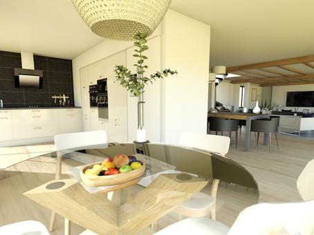 Rénovation totale d'une maison style longère normande - JL Décorr