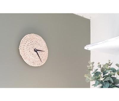 Tuto: Horloge Scandinave fait main pour - de 10€ et en - de 10min !!