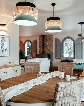 Rénovation salon cosy maison normande -