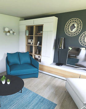 visuel 3d salon meuble tv sur mesure mai