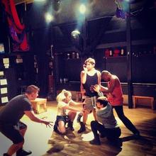Robby Hart Rehearsal