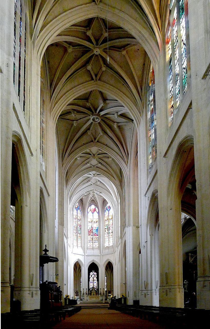 Nef centrale Eglise St Gervais