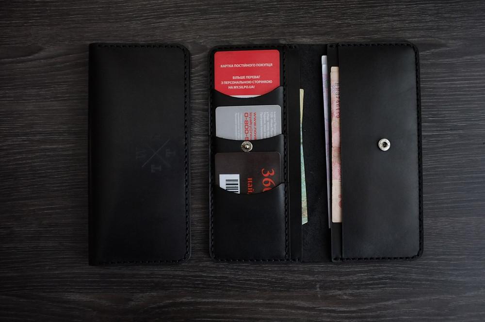 Бумажник Р5 - пример кошелька без отделения для мелочи