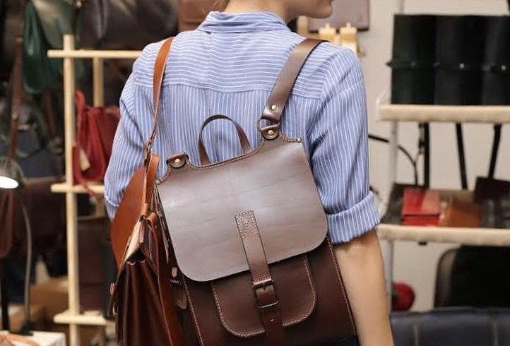 """Кожаный рюкзак """"Melbourne MAX"""""""