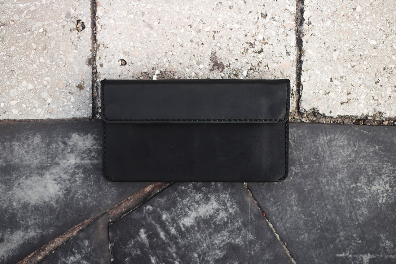 Double Snap Long Wallet