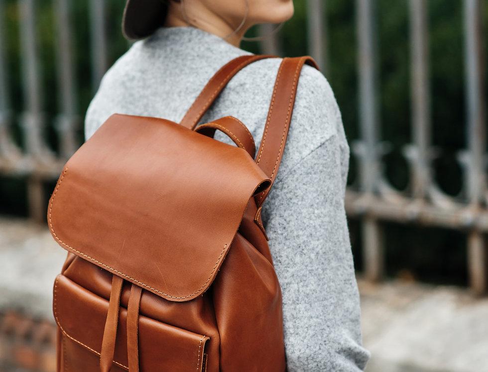 """Кожаный рюкзак """"Helen"""""""