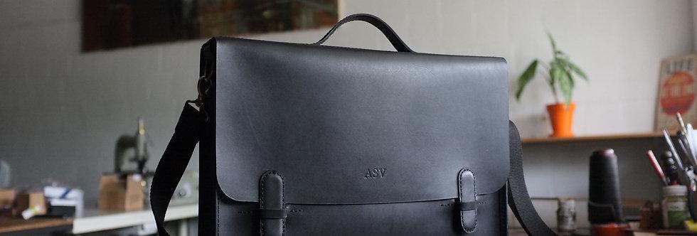 """Кожаная сумка """"G-briefcase"""""""