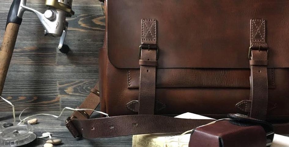 """Кожаная сумка """"Sydney"""""""