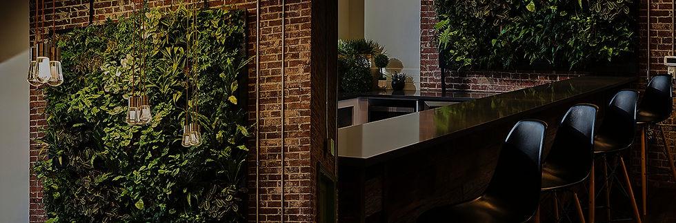 Mur végétal intérieru par Végétal Tendance