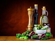 balsamic-vinegar-olive-oil-and-green-herbs-PYD7TBW.jpg