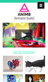 Schilders en illustratoren website templates – Animatiestudio