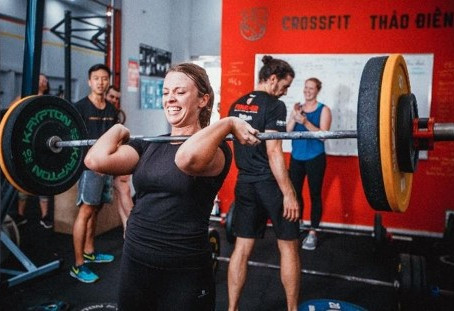 First month of Crossfit