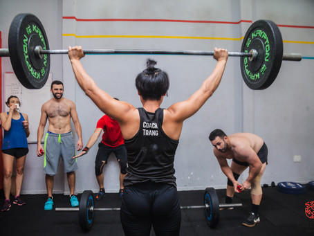 Coach Trang Nguyen goes to the CrossFit Games!