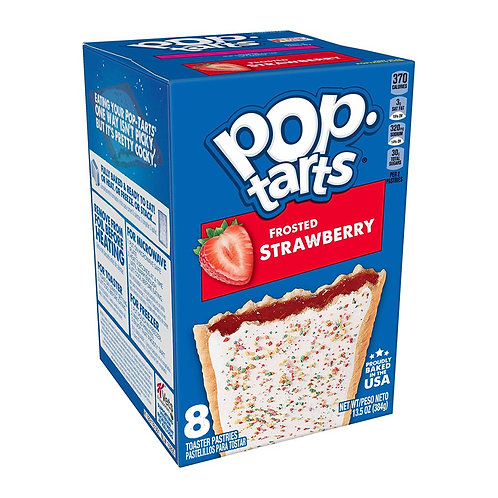 POP TARTS FROSTED STRAWBERRY 384G