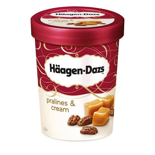 HAAGEN-DAZS PRALINES & CREAM