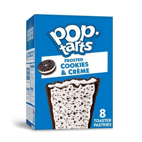 POP TARTS FROSTED COOKIES AND CREAM